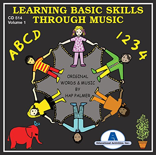 Preschool Cd - Learning Basic Skills Through Music Vol. 1