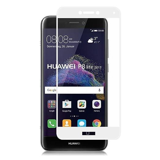 14 opinioni per (2 Pack)Pellicola Protettiva Huawei P8 lite 2017- 3D Full Coverage Huawei P8