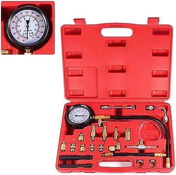 Universal Fuel Injection Pump Pressure Injector Tester Test Pressure Gauge Kit