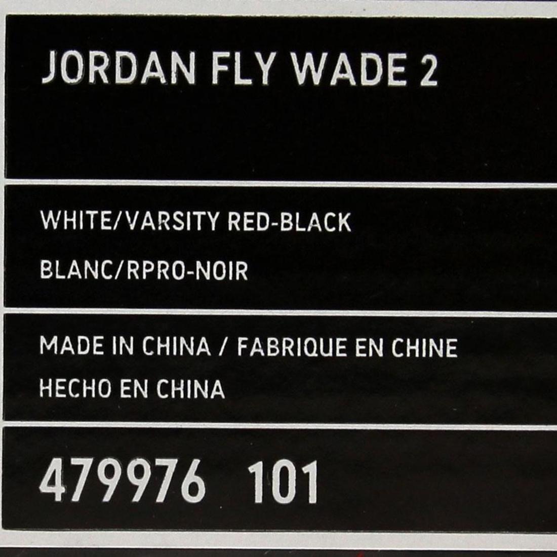 size 40 afc6a 3d9dc Amazon.com   Nike Men s Jordan Fly Wade 2 Basketball Shoe White Black  Varsity  Red   Basketball