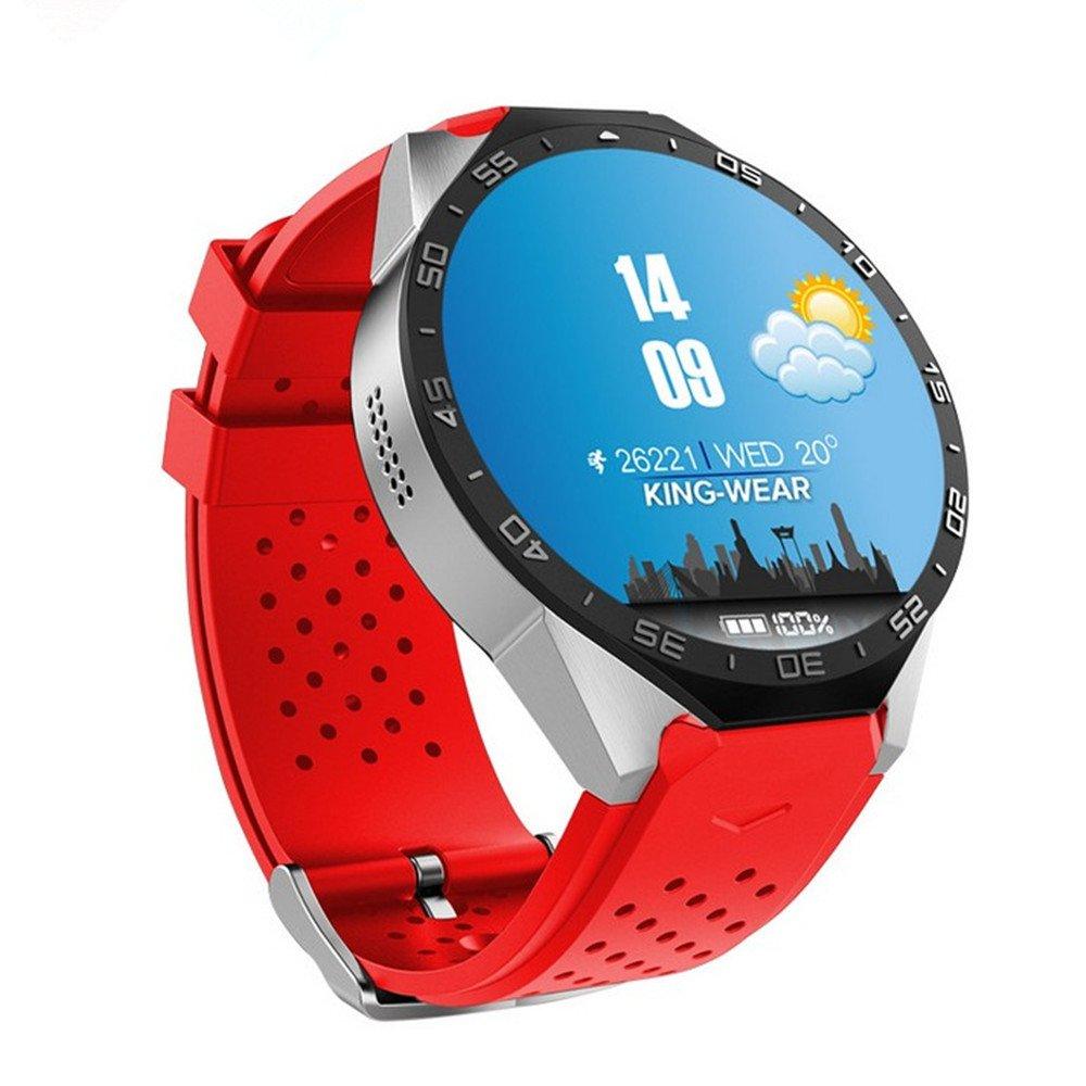 Kingwear KW88 WIFI función Smartwatch reloj reloj deportivo Android4.3 y Ios7 soporte de alta calidad 200W cámara monitor rater monitor / podómetro / ...