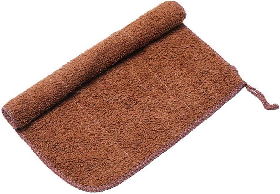 1pc Kitchen Dish Cloths Coral Velvet Wash Towel Cleaning Cloths Thicken