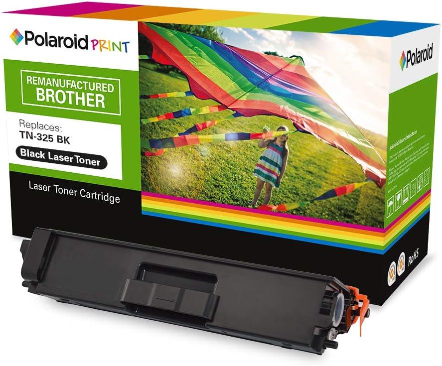Polaroid - Polaroid Toner LS-PL-2063-00 remplace Brother TN-325BK: Amazon.es: Electrónica