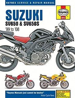 suzuki sv650 sv650s 99 08 haynes service repair manual max rh amazon com Suzuki RC 100 Cap Suzuki RC 100 Cap