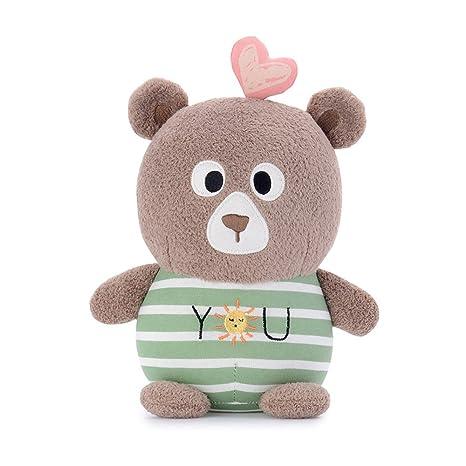 Amazon.com: Niñas Estilo bordado juguetes de peluche rosa ...