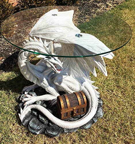 Pendragon Ryu Ice Frost Dragon Guarding Treasure Coffee S...