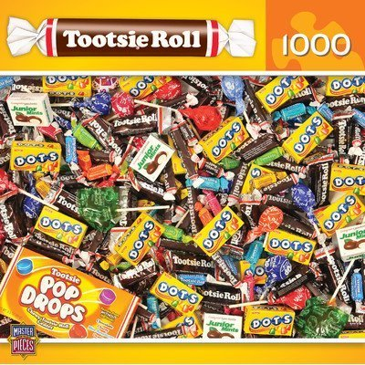 Tootsie Roll 1000 Piece Jigsaw Puzzle (Free Roll Tootsie)