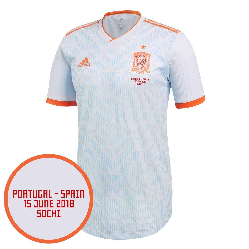 Player Print - adidas Performance Spanien Away Authentic Trikot 2018 2019 inkl vs Portugal WM Druck