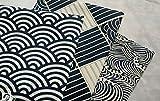 Worldcom Generic 3pc Japanese Wave Style Cotton