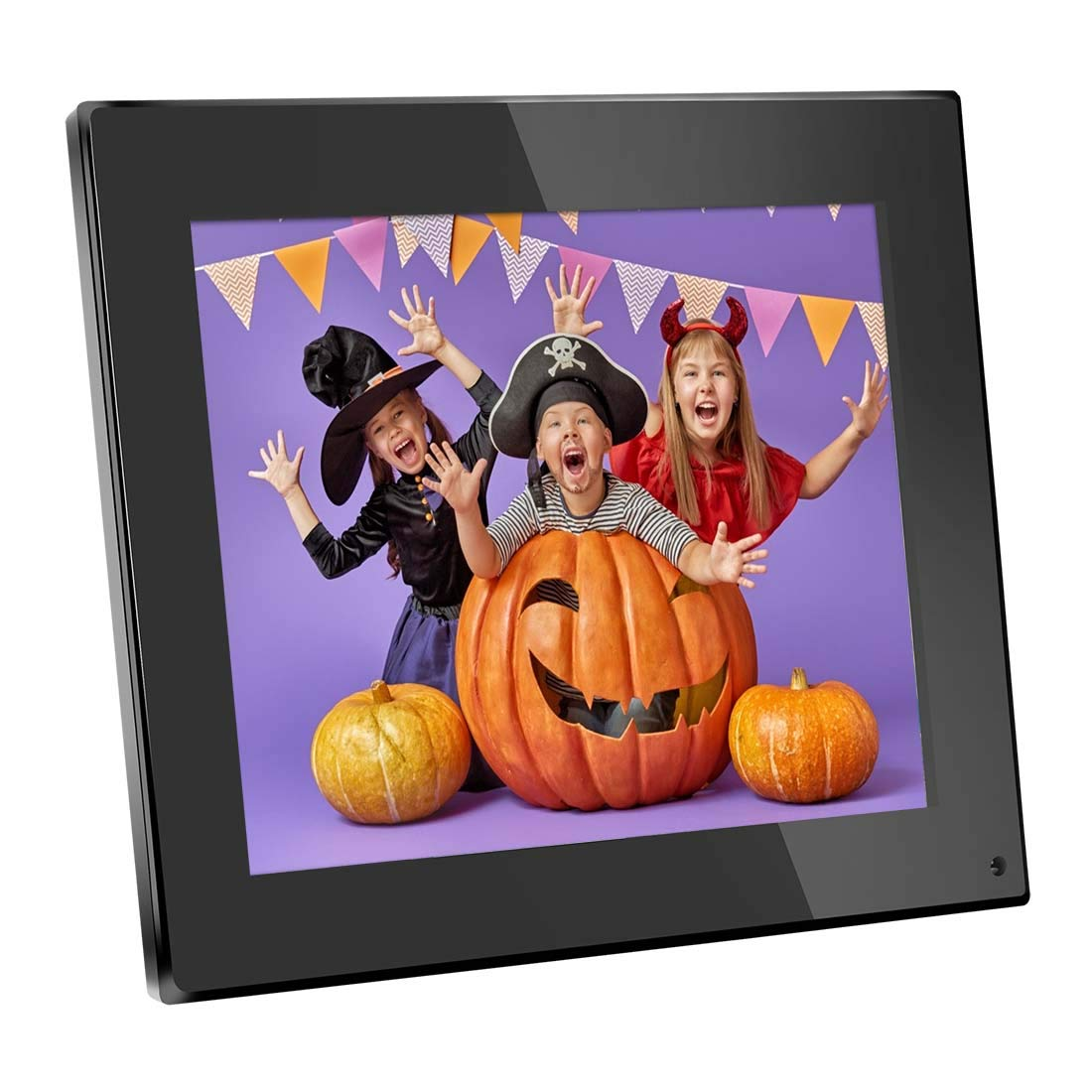 Digital Photo Frame 8 Inch Digital Picture Frame 1024x768(4:3) High Resolution LCD Screen Music Video Player/Alarm/Calendar with Remote Controler Black(M03) by Bsimb