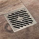 ZHHID Sistema de Drenaje para Ducha/para baño/para Cocina/para desagüe en el Suelo/con Tapa de Filtro Desmontable/diseño antiagregación