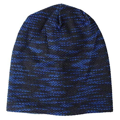 de de unisex polar azul para Gorro punto exteriores forro YUMARY azul grueso UqaCw