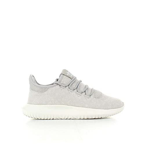 adidas Originals Tubular Shadow J Grey Two Textile 4 M US Big Kid