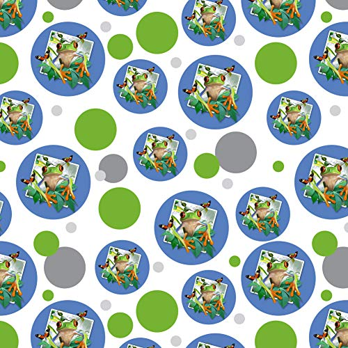 GRAPHICS & MORE Tree Frog Selfie Picture Rainforest Premium Gift Wrap Wrapping Paper Roll