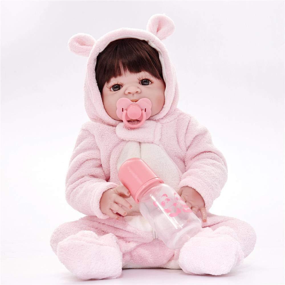 de moda Hongge Reborn Baby Doll,Muñeca Reborn realistas Parece Juguete de la la la muñeca Real recién Nacido 58cm  venta al por mayor barato
