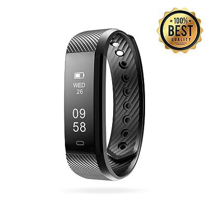 amazon com fitness tracker ampro fitness personal activity