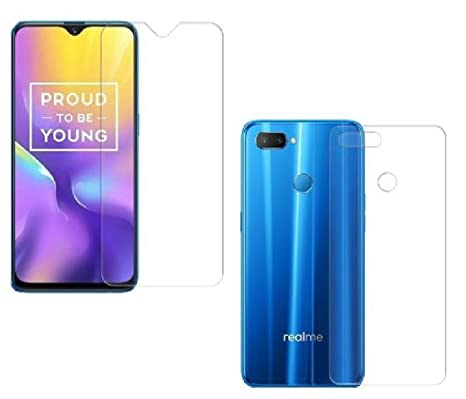 sports shoes c6c0d 4f1b9 First MART Realme U1 (Front & Back) Hammer Proof Unbreakable Nano Film  Impossible Screen Protector Screen Guard.{Not a Tempered Glass} Designed  for ...