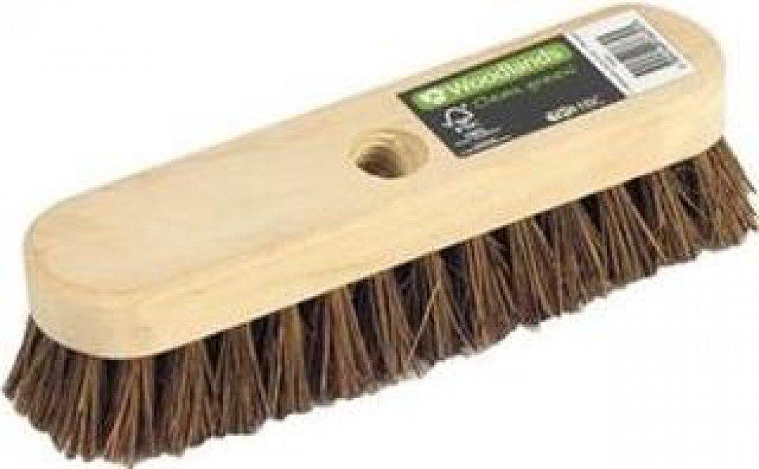 Hills Brush W003 Stiff Nat Bass Deck Scrub 23cm