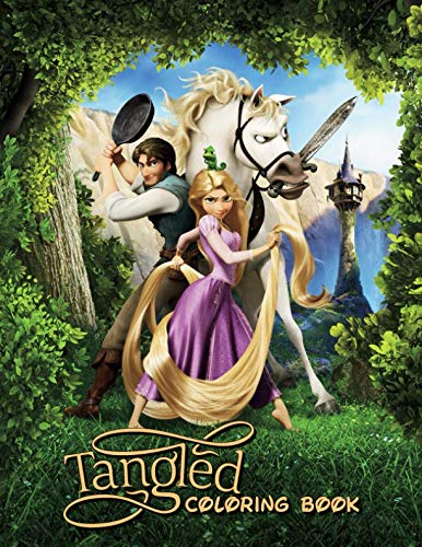 Tangled Coloring Book: Great Coloring Book