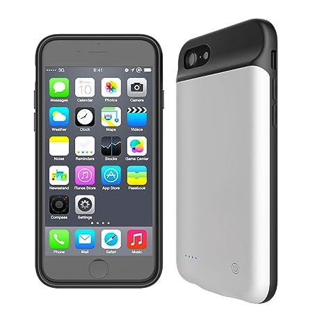 Funda batería iPhone 7 / iPhone 8 , FindaGift 2800mAh Ultra ...