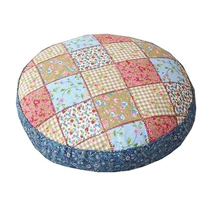 Amazon.com: DRAGON SONIC Thicken Round Floor Pillow Cushion ...