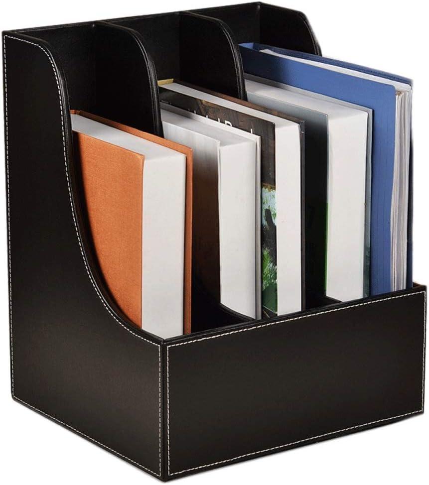 Desk File Tray Shelf on The Third Floor of Office Multi-Layer Data Frame Folder Storage Box Base Basket bar File Storage Rack