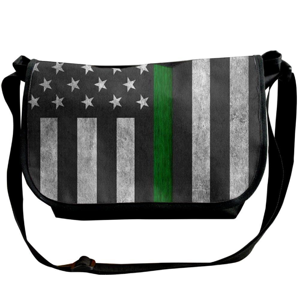 Futong Huaxia Green Turtle Travel Messenger Bags Handbag Shoulder Bag Crossbody Bag Unisex