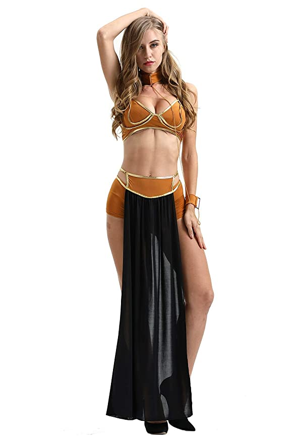 lancoszp Mujer Halloween Bikini Disfraz de Diosa Griega Sexy ...