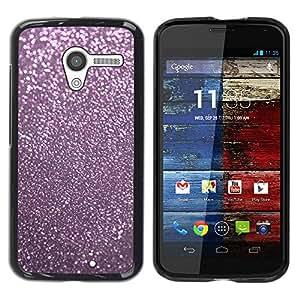 Paccase / SLIM PC / Aliminium Casa Carcasa Funda Case Cover - Pink Reflective Dust Winter X-Mas - Motorola Moto X 1 1st GEN I XT1058 XT1053 XT1052 XT1056 XT1060 XT1055
