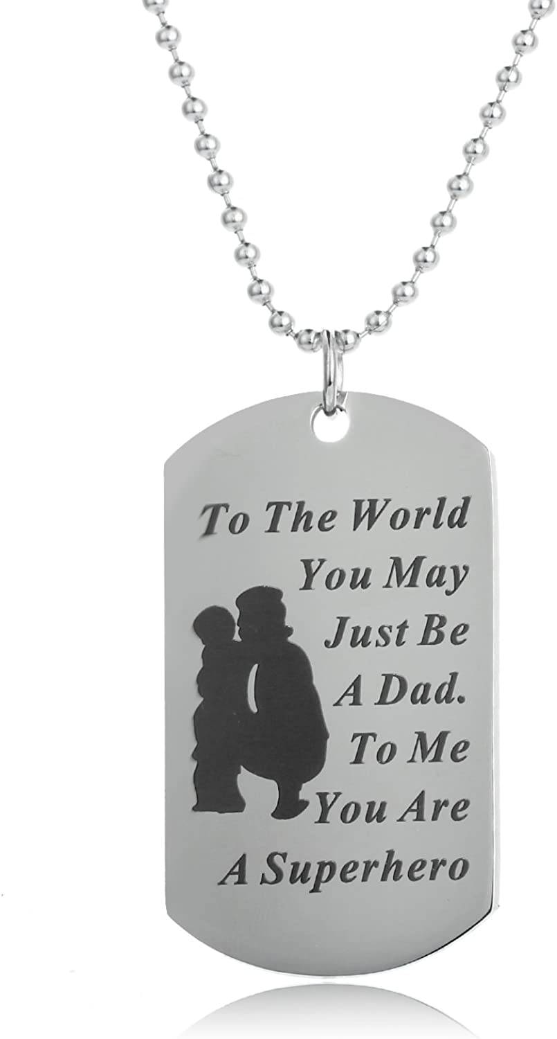 Soldier Necklace Custom Necklace- Hand Stamped Jewelry Personalized Engraved Jewelry My Hero Wears Combat Boots Wife Of A Soldier