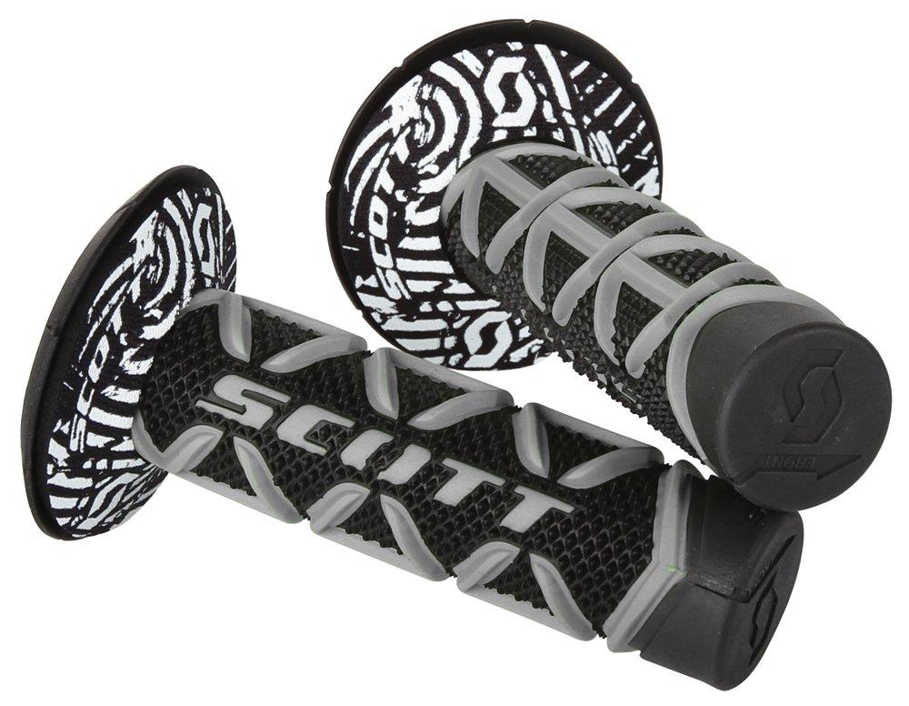 Scott Sports 219626-1019 Gray/Black Diamond Motorcycle Grips