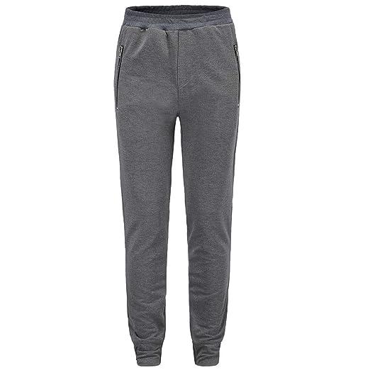 cf8d65093757 Bovake Herren Ausbildung Hose Sport Slim Chino Pants Moderne Stoffhose,Baumwollhose  für Männer,Freizeithose