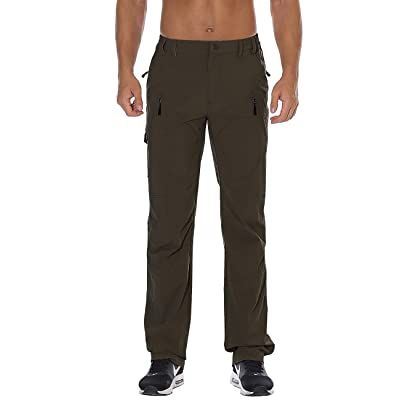 Amazon.com : Nonwe Men's Quick Dry Water-Resistant Hiking Camping Pants : Clothing