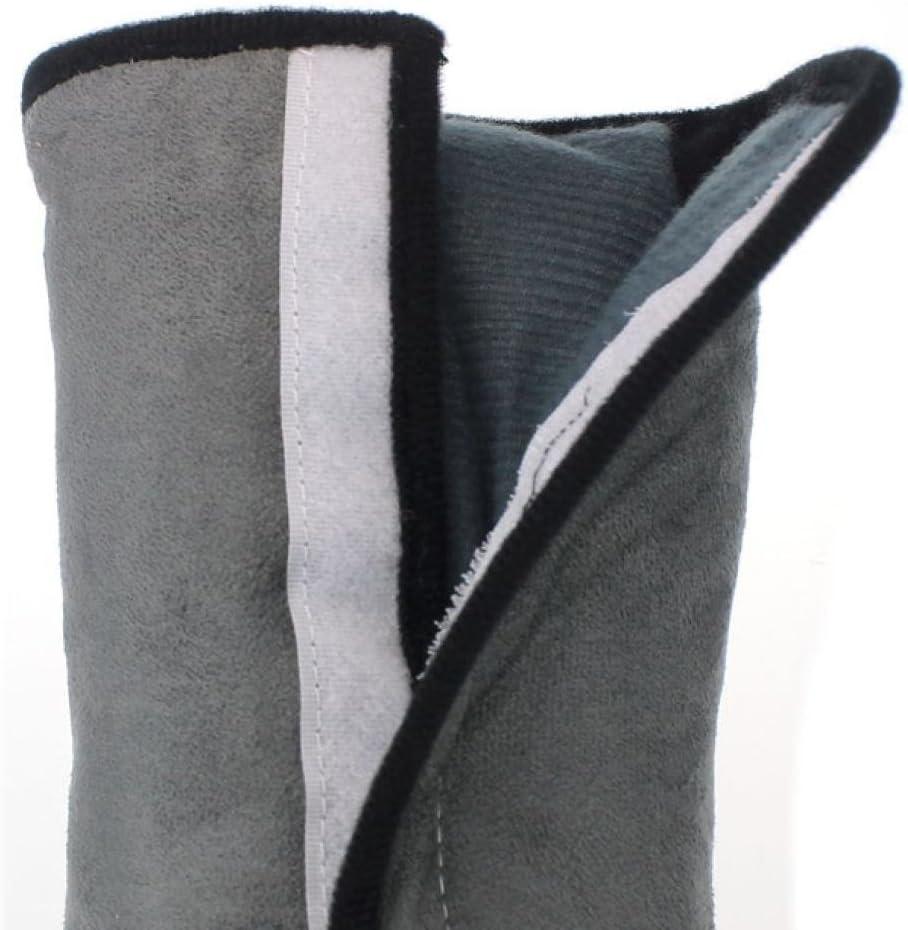 Daorier Voiture Ceinture de S/écurit/é Epaule Oreiller Coton Enfant T/ête Protection Coussin de S/écurit/é Auto Coussinet D/épaule,30*13*9cm,Noir 1PC