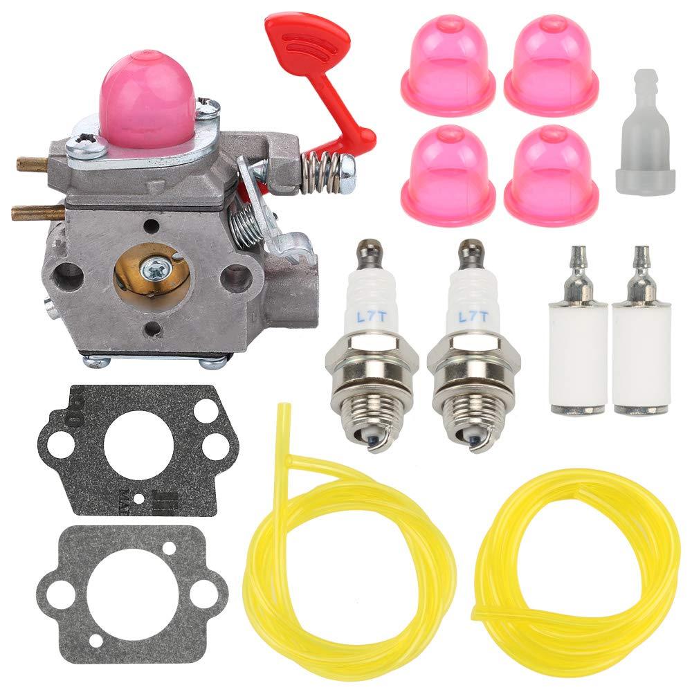 Anzac BVM200VS Carburetor Carb for Craftsman Poulan Pro McCulloch Blower BVM200C P200C GBV325 P325 Replace WT-875 WT-875A
