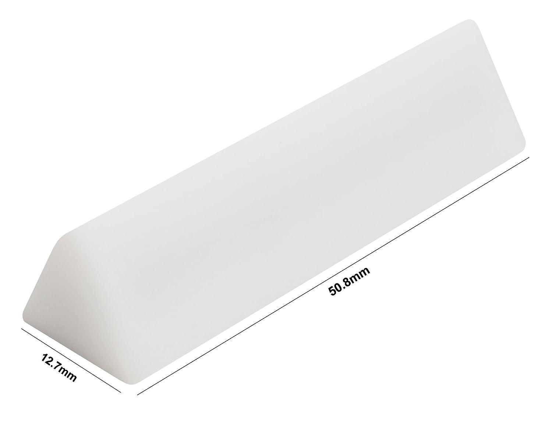 White Bel-Art Spinwedge Teflon Magnetic Stirring Bar; 12.7 x 44mm F37123-0000