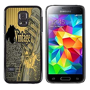 Dragon Case - FOR Samsung Galaxy S5 Mini, SM-G800 - you know I will - Caja protectora de pl??stico duro de la cubierta Dise?¡Ào Slim Fit