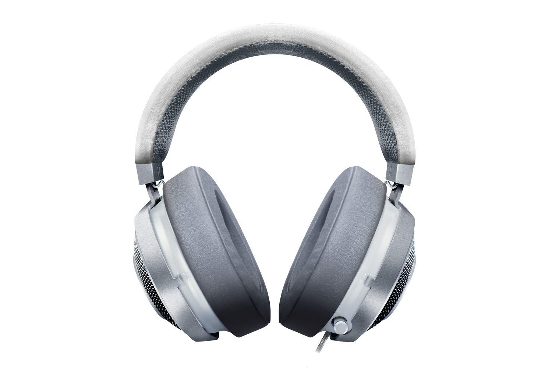 a96d9679390 Razer Kraken 7.1 V2 Mercury Edition Surround Sound USB White Gaming Headset,  Beige: Amazon.co.uk: Computers & Accessories
