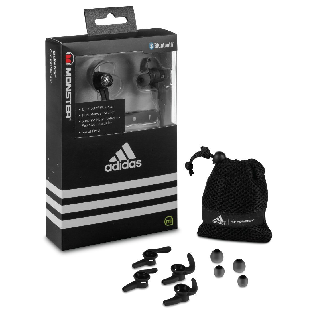 Monster Adidas Supernova - Auriculares in-ear, color negro: Amazon.es: Electrónica