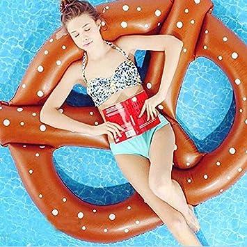 Smartlife pretzel flotadores de piscina aire colchón hinchable ...