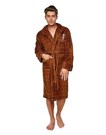 Doctor Who Bathrobe, Mens 11th Doctor Who Dressing Gown Bathrobe ...