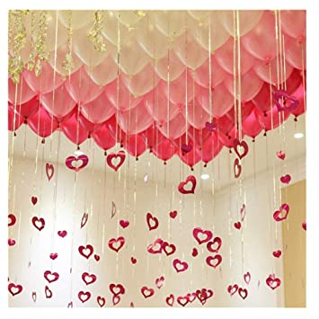 Amazon Com Utopp 100 Pack 12 Balloons Valentines Day Decorations