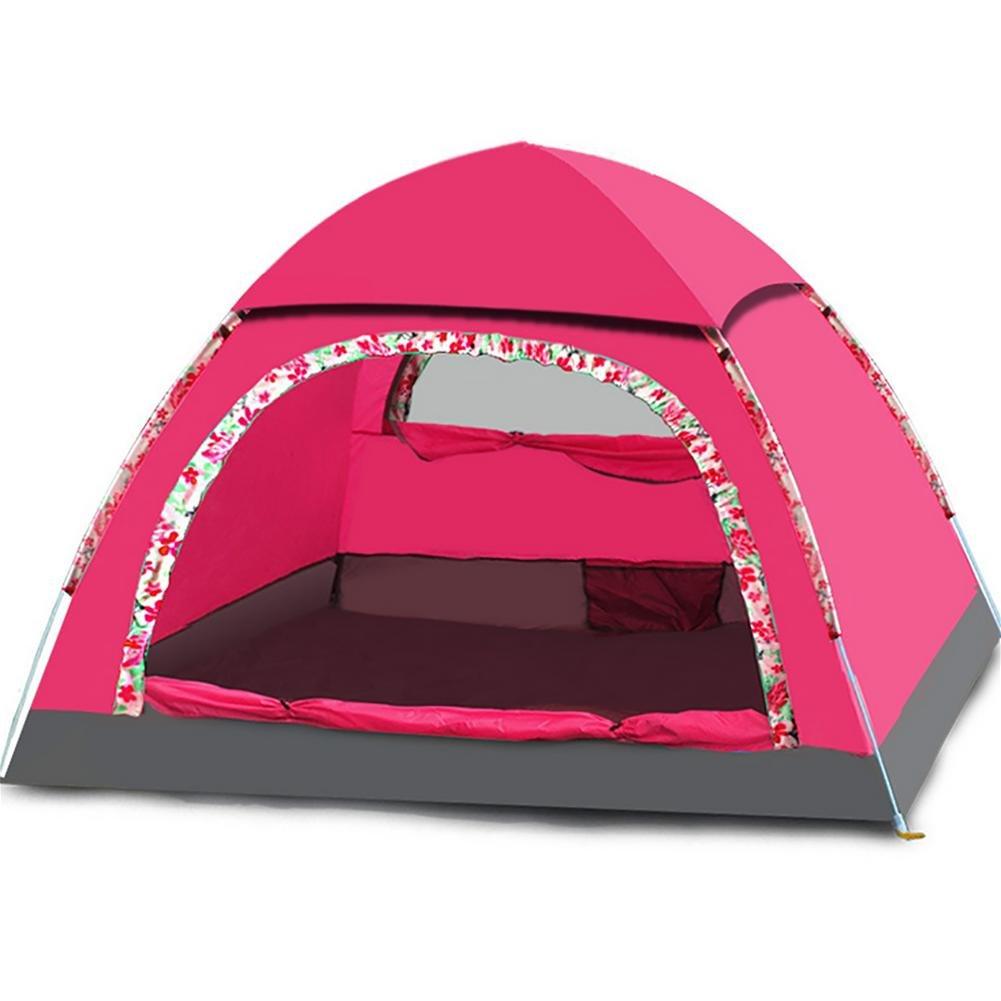Miao Automatische Zelte, Outdoor 3–4 Personen Camping Regen Prävention