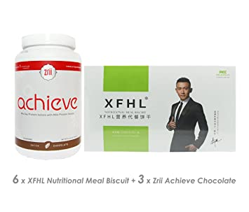 27246b4fcf Amazon.com  (6) XFHL Nutritional Meal Biscuit Loss Excess Fat