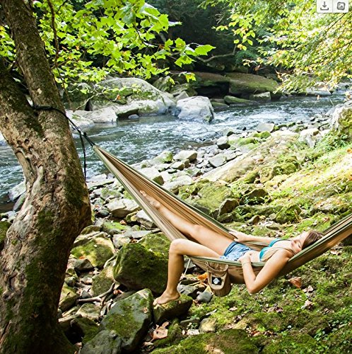 Legit Camping Hammock – Portable Double Travel, Hiking, and Backpacking Parachute Hammocks