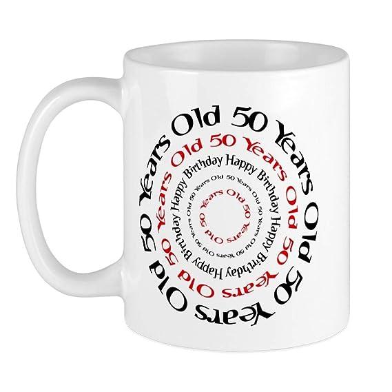 CafePress - 50th cumpleaños 50 años de edad - taza de café ...