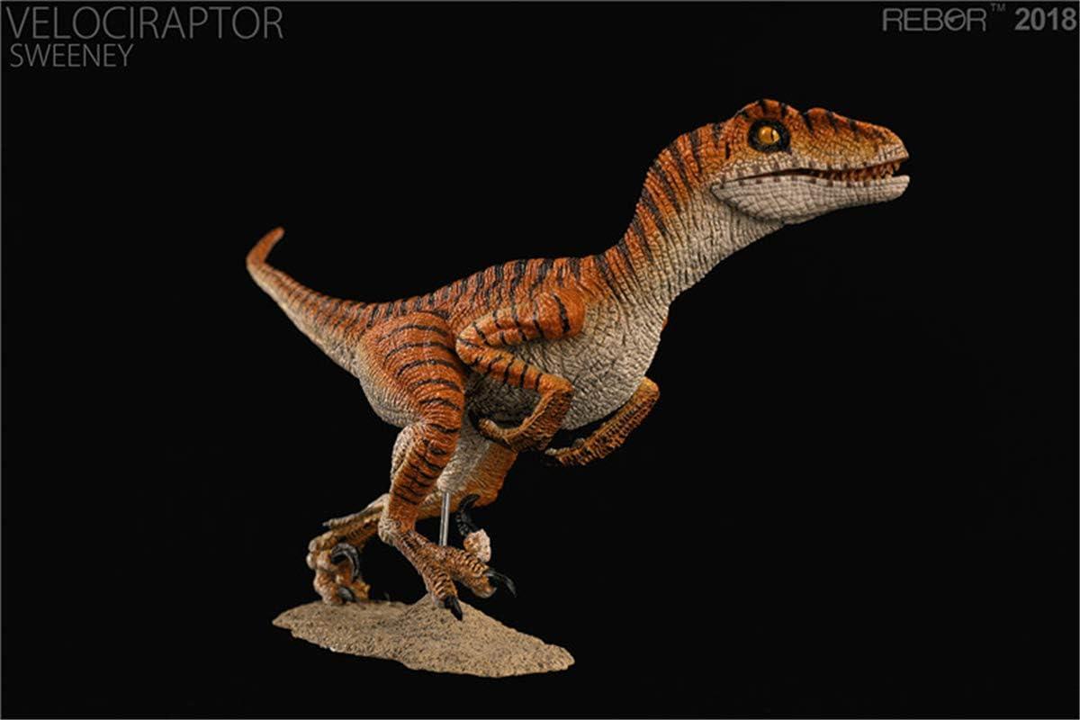 REBOR 1//18 Velociraptor Figure Raptor Dinosaur Model Animal Decor Collector Toy
