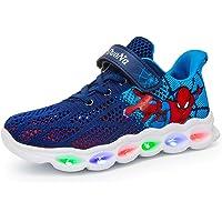 LXJL Zapatillas para niños con LED Luminoso, Zapatillas