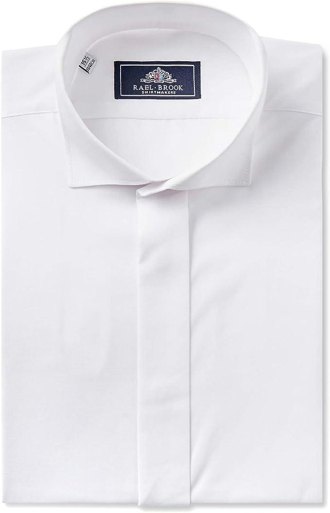 Rael Brook Camisa de vestir con alas de barrido de corte ...