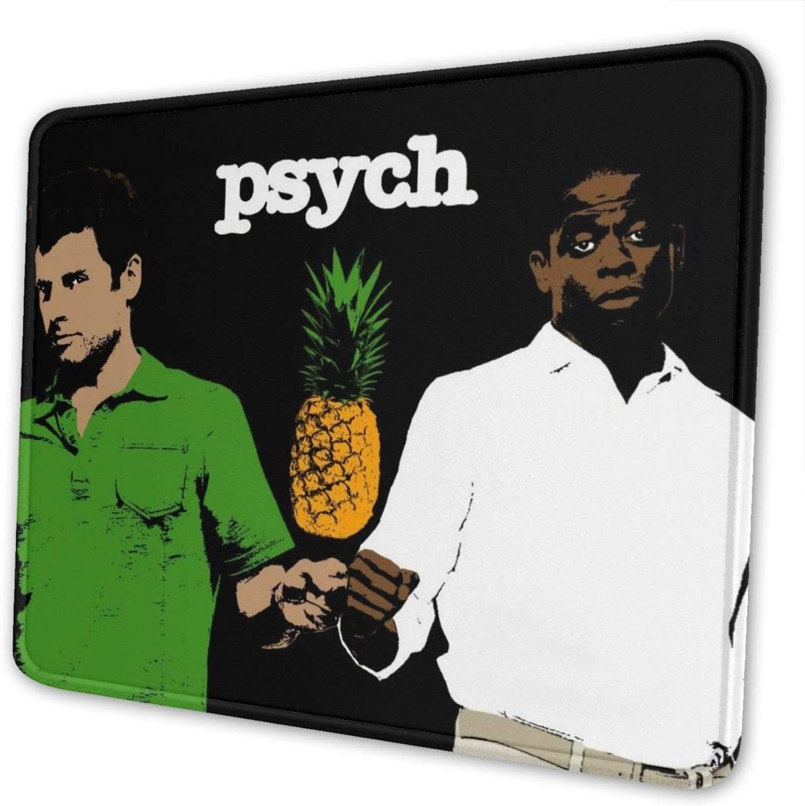 Psych Pineapple Mouse Pad Customized Mousepad Non-Slip Rubber Base Mouse Pads for Computers Laptop Office Mouse Pad for Kids